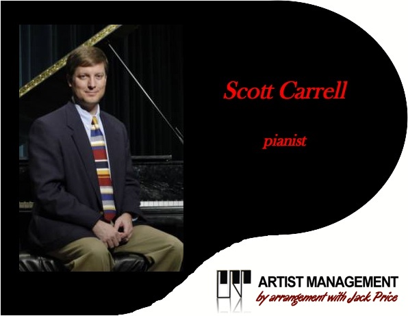 Scott Carrell, pianist