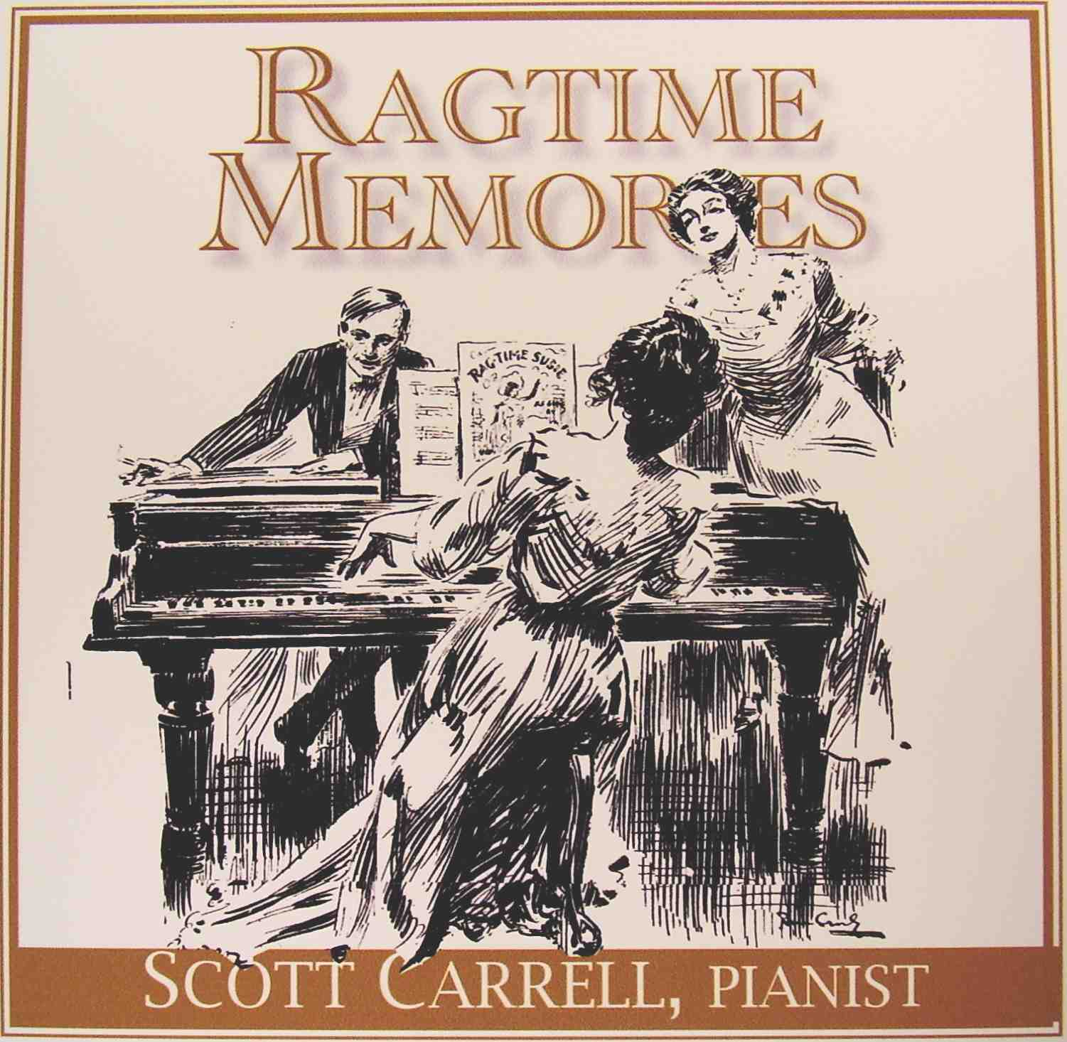 Various Ragtime Piano Roll Classics